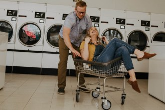 Laundromat Engagement-17