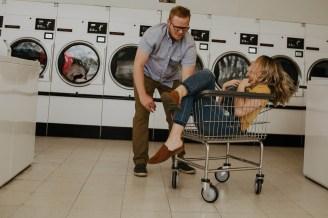 Laundromat Engagement-18