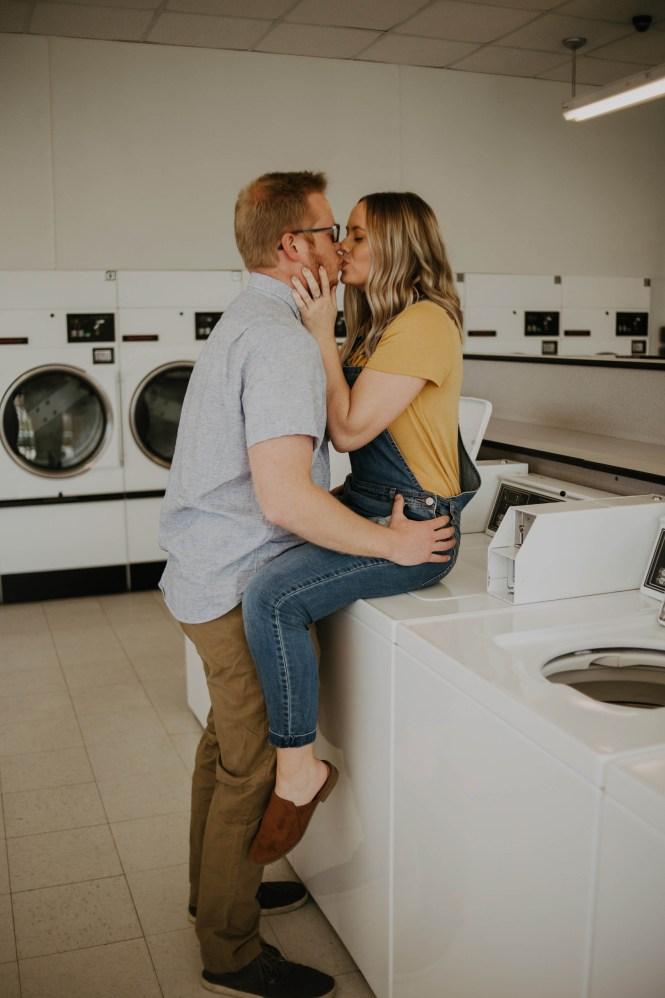 Laundromat Engagement-24
