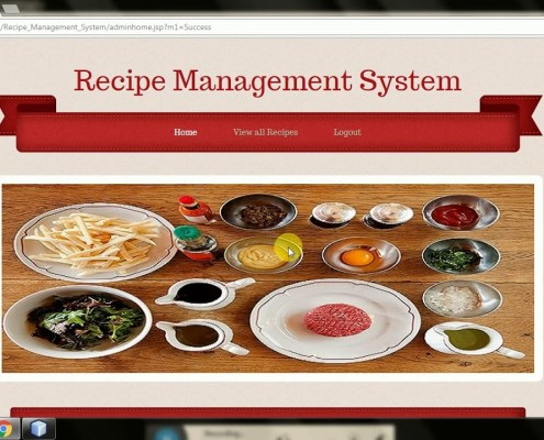 Recipes Management System