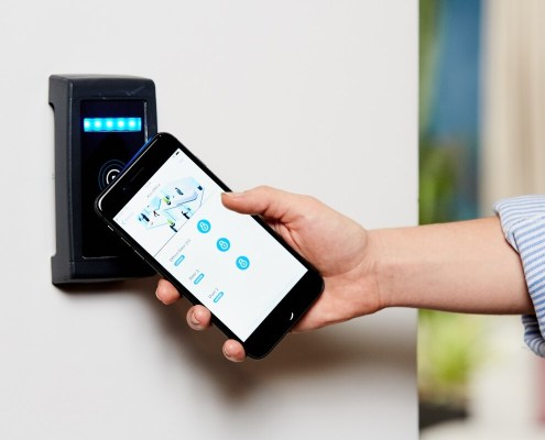 Keyless Mobile Controlled Locks System