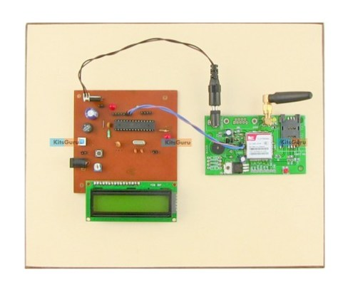 Outdoor Smart Advertisement Board SMS Controlled