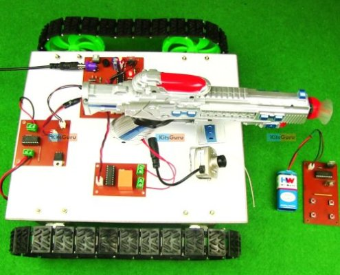 RF Controlled Robot for Military