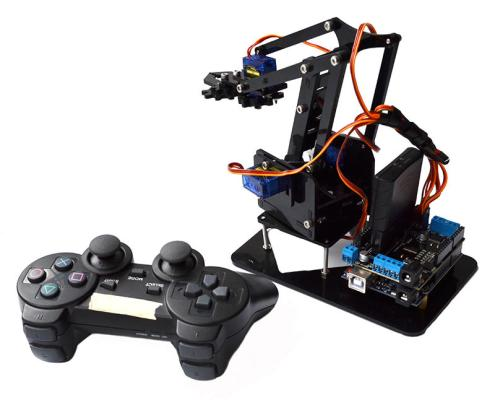 Joystick Controlled Robotic Arm
