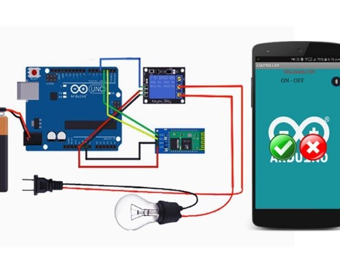 Electrical Appliances Controlling System Using Cell Phone