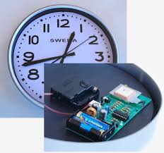 GPS Based Digital clock. (Satellite synchronized clock)