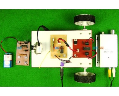 Surveillance Robot (without micro-controller)