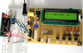 Microcontroller based Digital Capacitance and Resistance