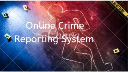 Online Crime Reporting System