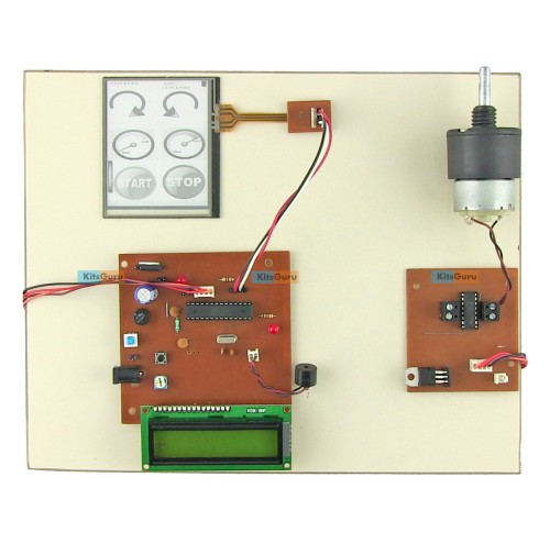 Touch Screen Control DC Motor