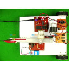 Touch Screen Based Wireless Bomb Disposal Robot
