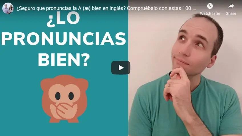 """¿Pronuncias la """"a"""" bien en inglés? Practica con estas 100 palabras con A en inglés."""