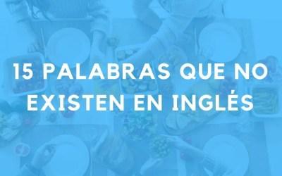 15 palabras relacionadas con la comida que no existen en inglés