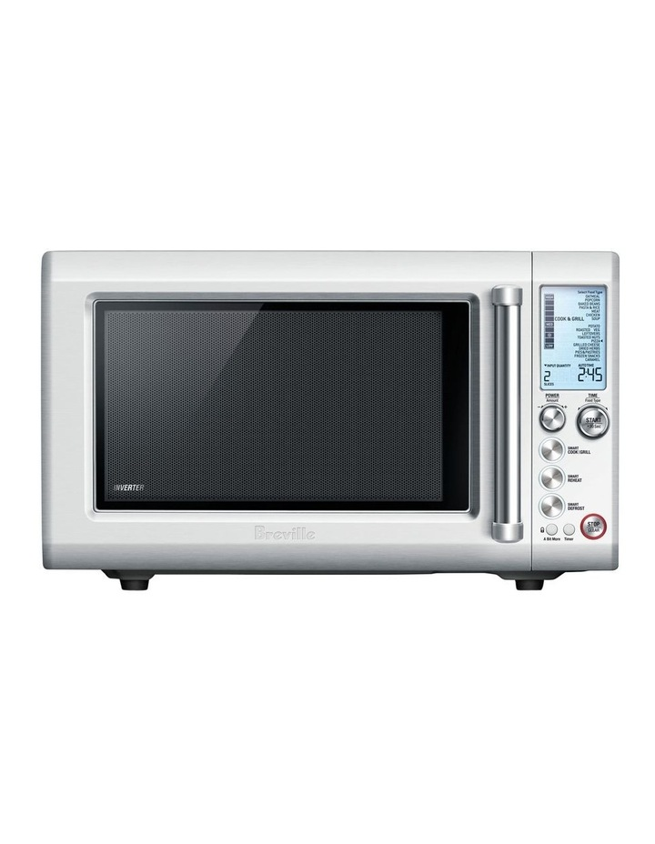 breville the quick touch crisp microwave stainless steel bmo700bss