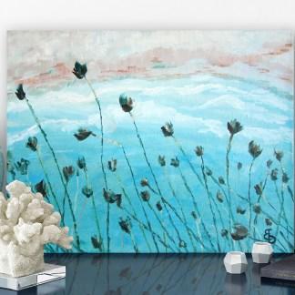 Картина маслом «Дуновение ветра»