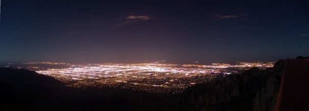 See the beautiful Albuquerque sunset