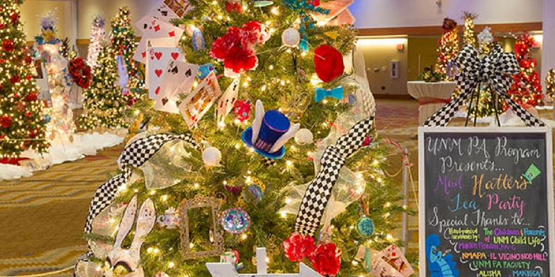 See over 80 decorated trees at Festival of Trees