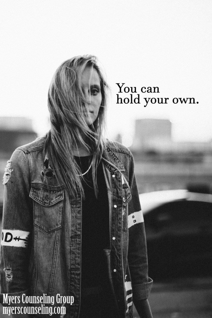 Inspirational Quote of the Day: Hold Your Own