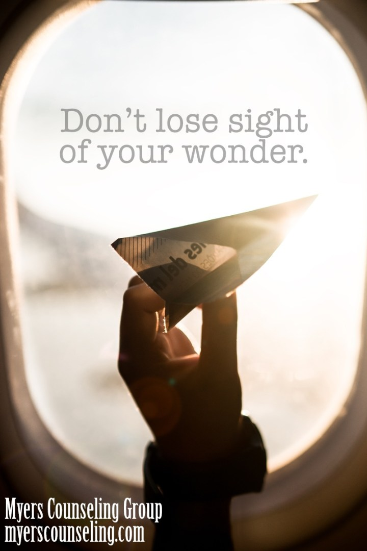 Inspirational Quote of the Day: Wonder