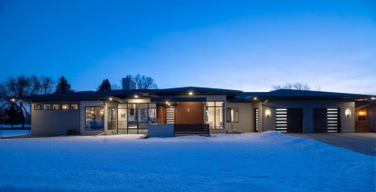 Modern Home Construction Myers Custom Homes in Billings