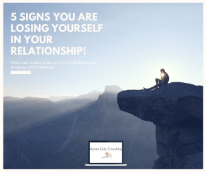 5 signs you are losing yourself in your relationship?