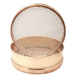 Intermediate Height Brass-Stainless Sieves