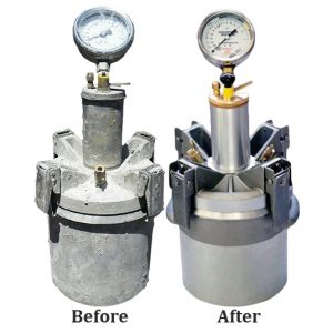 Concrete Air Meter Refurbishing