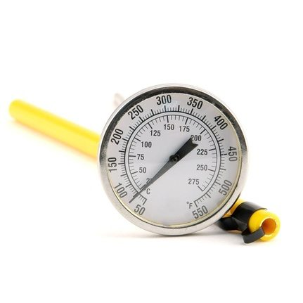 large dial face thermometer