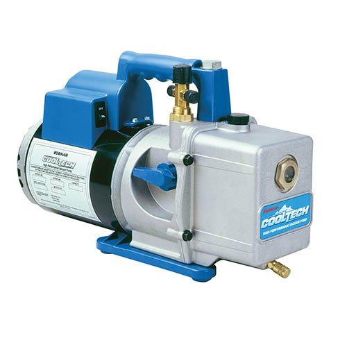 robinair two stage vacuum pump