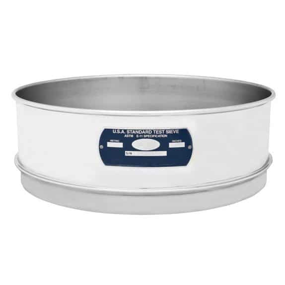 """Full Height Stainless-Stainless Sieves 8"""""""