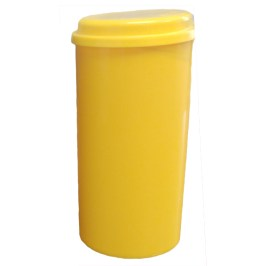 yellow cylinder molds