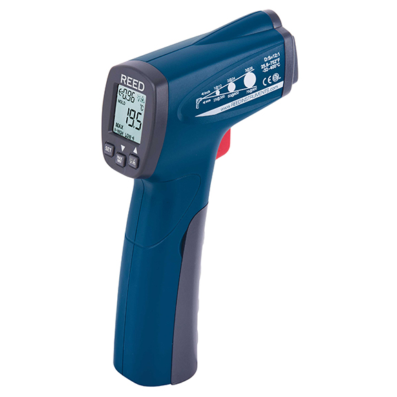 12:1 Wide-Range Infrared Thermometer