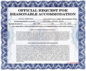 MYESA Reasonable Accommodation Letter ESA-page-001