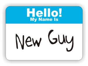 Hello new guy