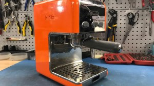 DeLonghi kMix coffee maker before repair