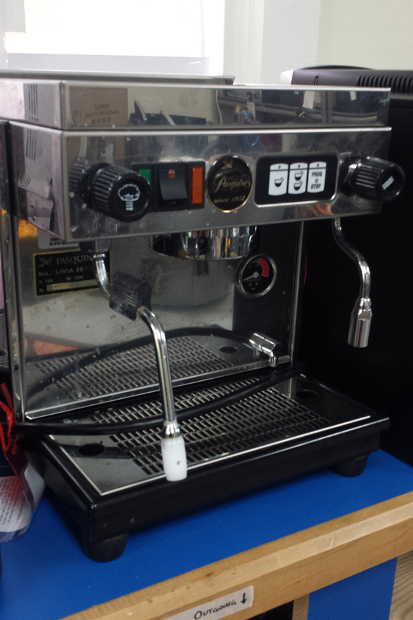 Livia 90 Pasquini Espresso Machine Repair
