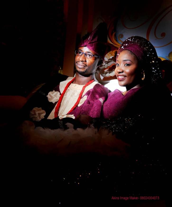 Nigerian couple portrait