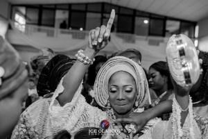 Happiest bride best event planner in Nigeria
