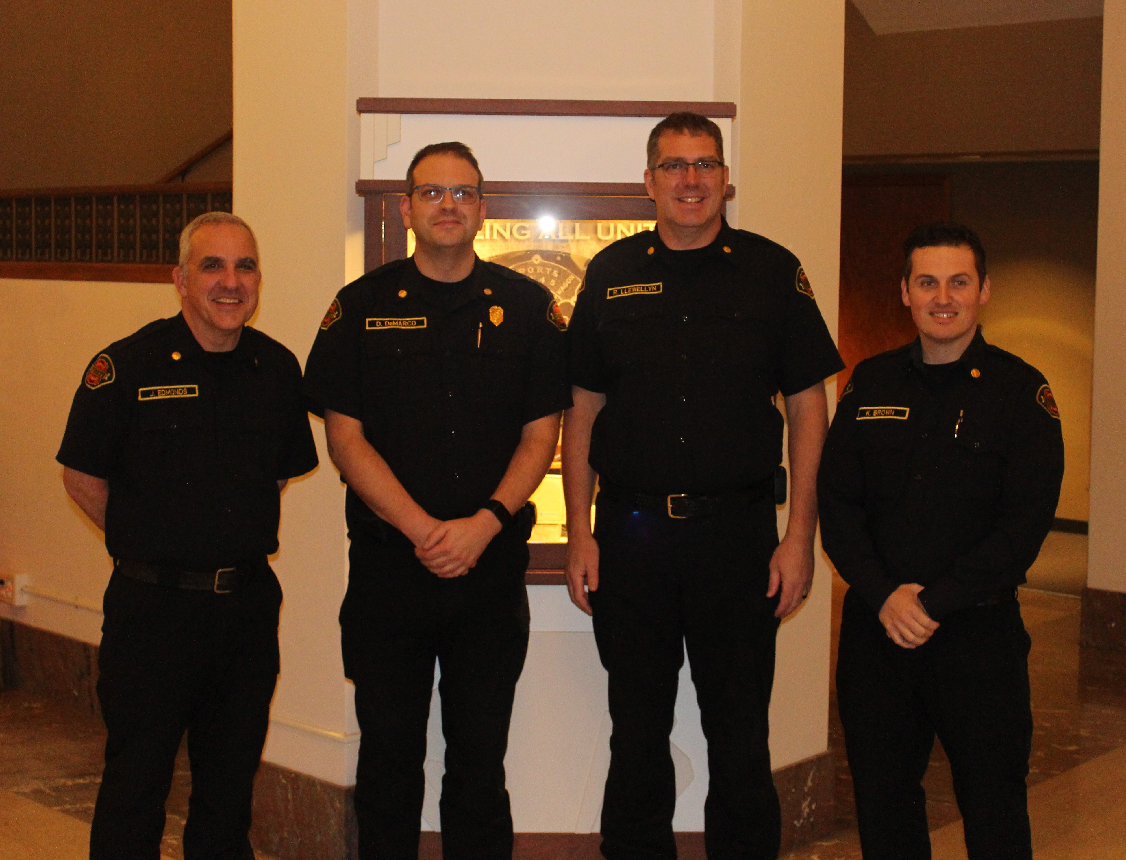 New Everett Fire Department Command Staff Introduced To