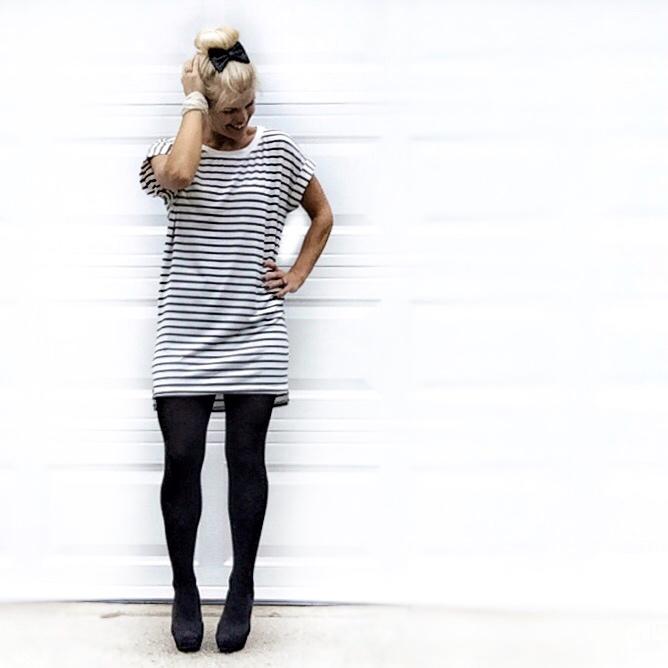 fashion.black tights