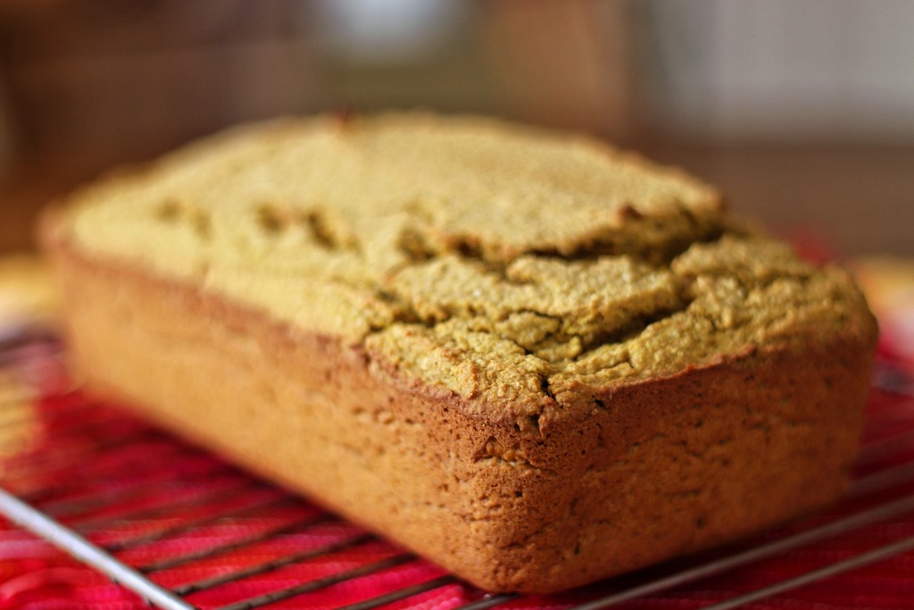 pumpkin bread whole
