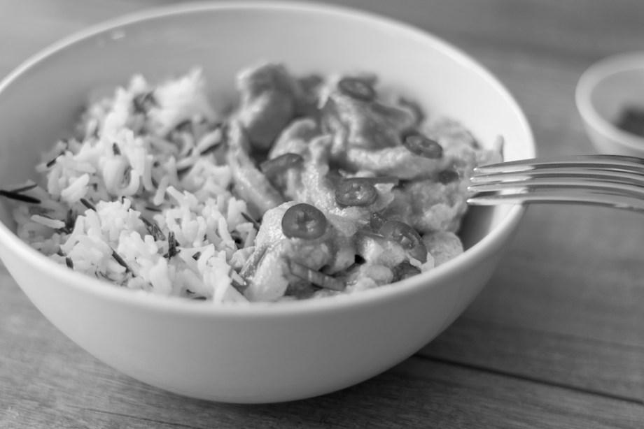 Curry black&white