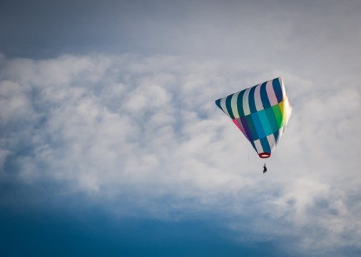 Up, up and away .....