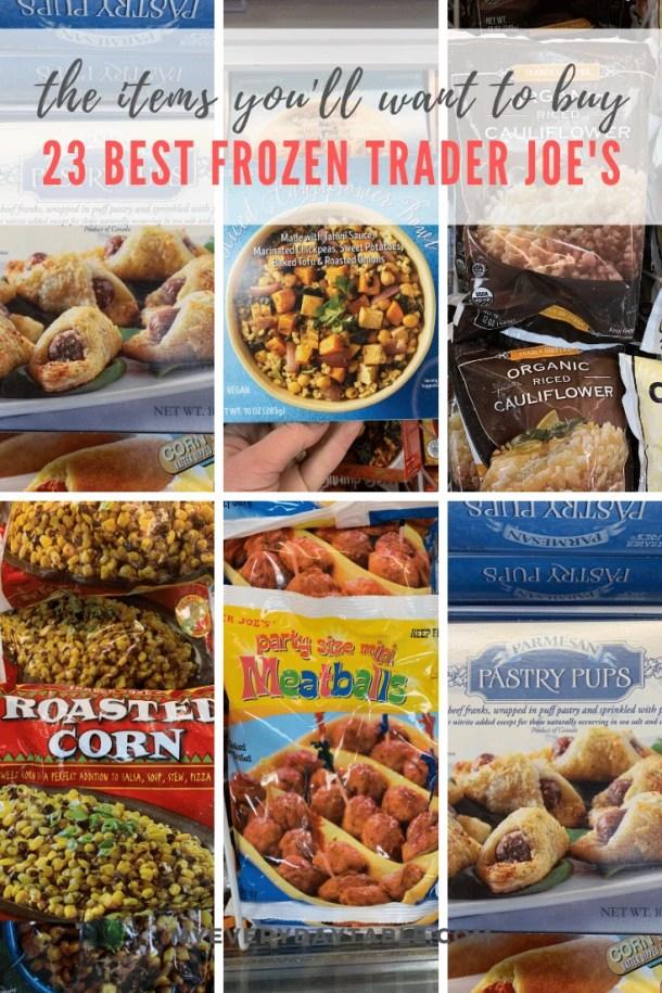 best trader joe's frozen products list