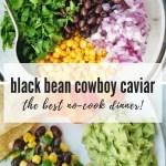 black bean cowboy caviar