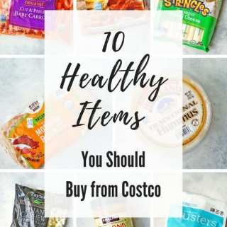 healthy items from Costco