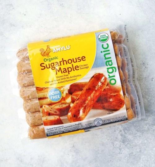 amylu breakfast chicken sausage