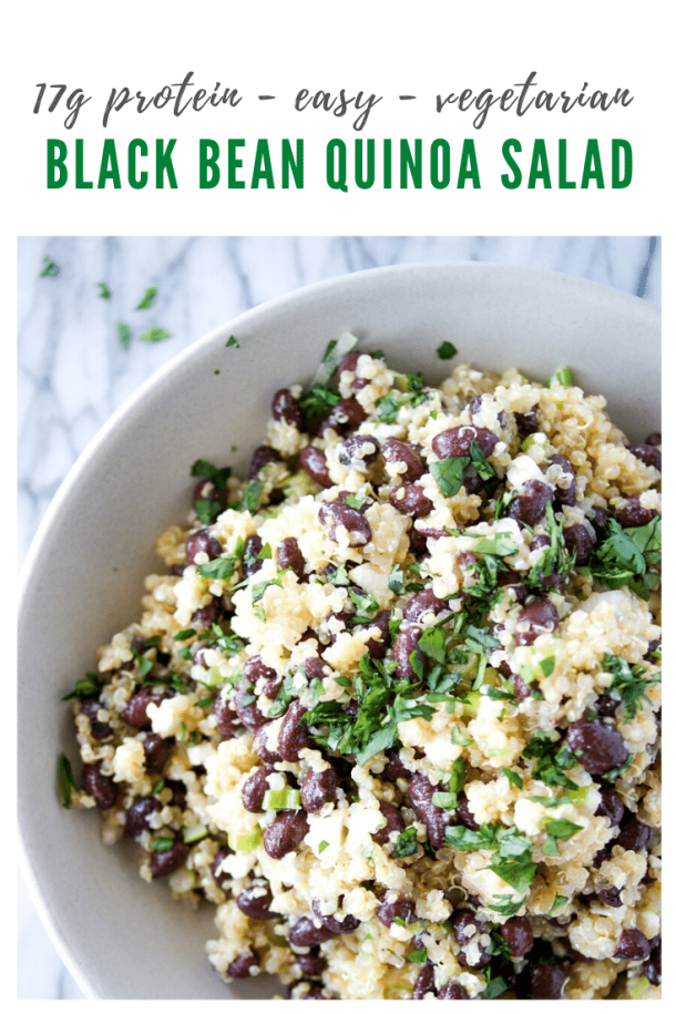 mexican black bean quinoa salad recipe - pinterest