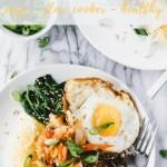 Slow Cooker Bibimbap Bowls recipe - pinterest