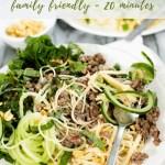 Thai Beef Noodle recipe - pinterest